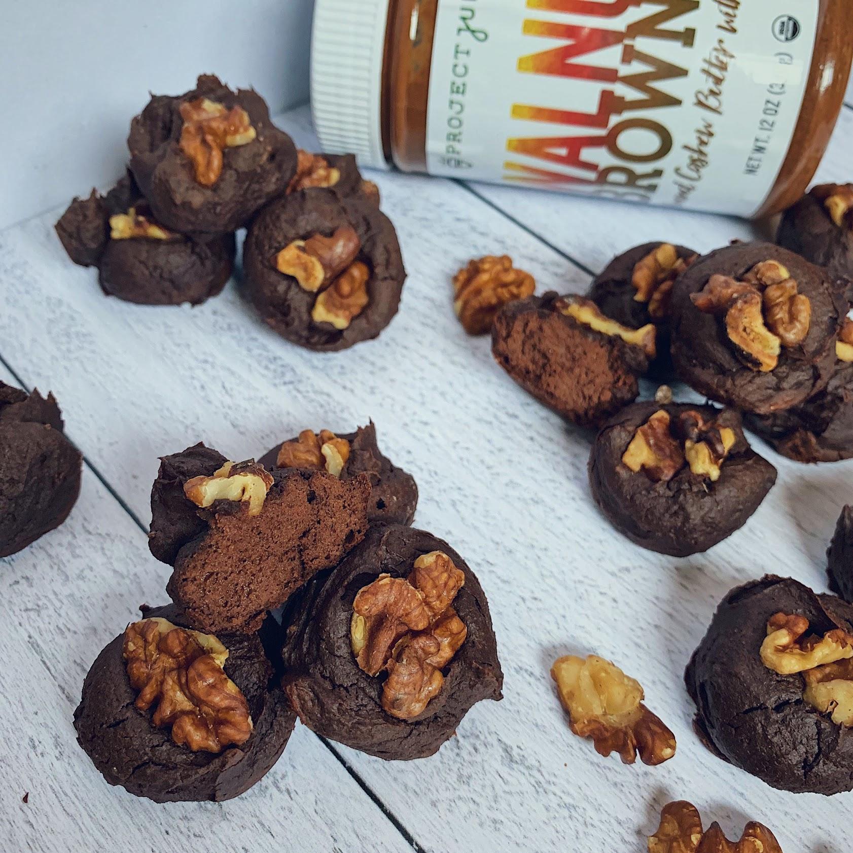 Avocado Protein Brownie Bites